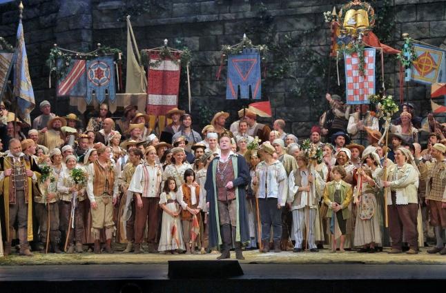 Great Performances at the Met: Die Meistersinger von Nürnberg - Michael Volle as Hans Sachs in Wagner's Die Meistersinger von Nürnberg. Photo: Ken Howard/Metropolitan Opera