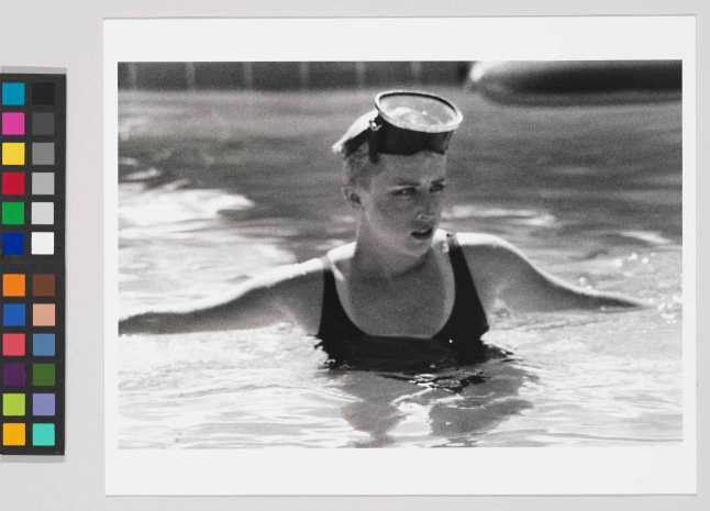 Cindy Sherman (b. 1954).  Untitled Film Still #45, 1979. Gelatin silver print, Sheet: 8 × 10in. (20.3 × 25.4 cm) Whitney Museum of American Art, New York; promised gift of Thea Westreich Wagner and Ethan Wagner      P.2011.357  © Cindy Sherman; courtesy artist and Metro Pictures, New York.