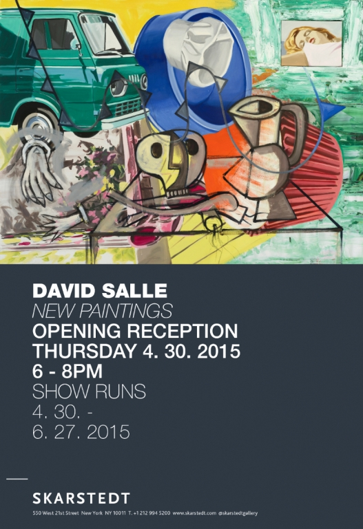David Salle This is the Fun (2014-2015)