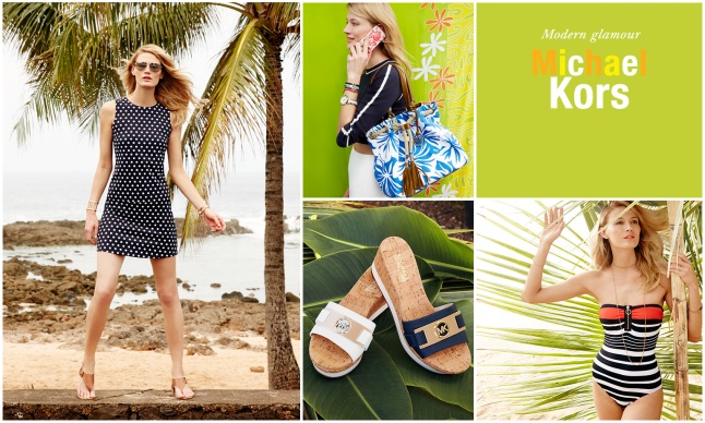 """Macy's Welcomes Back """"American Icons"""" This Summer with a special collection from Michael Kors."""