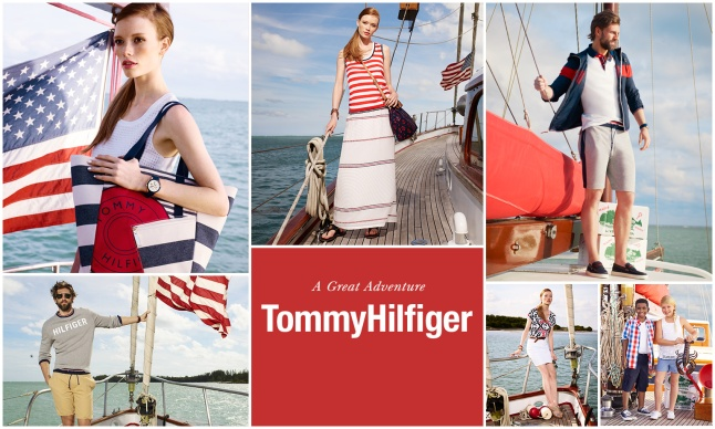 """Macy's Welcomes Back """"American Icons"""" This Summer with a special collection from Tommy Hilfiger."""