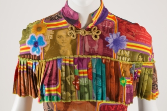 Manish Arora, Detail of top, Spring 2006, New Delhi, Museum purchase, 2007.58.1