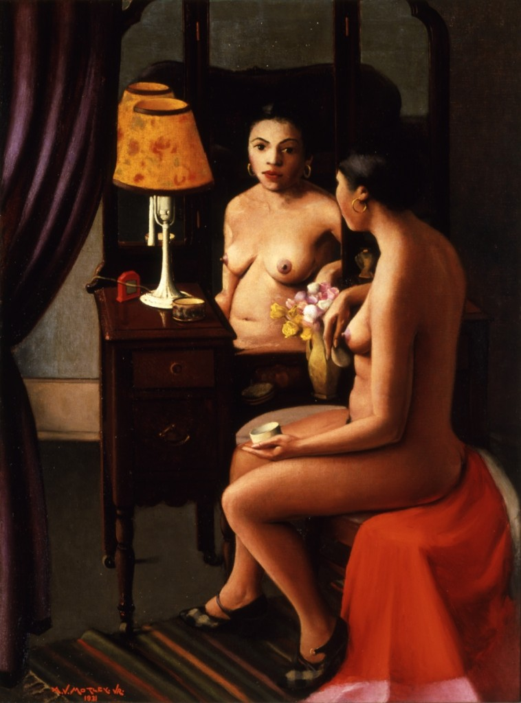 Archibald J. Motley Jr., Brown Girl After the Bath, 1931. Oil on canvas, 48.25 x 36 inches (122.6 x 91.4 cm). Collection of the Columbus Museum of Art, Ohio. Gift of an anonymous donor, 2007.015. © Valerie Gerrard Browne.
