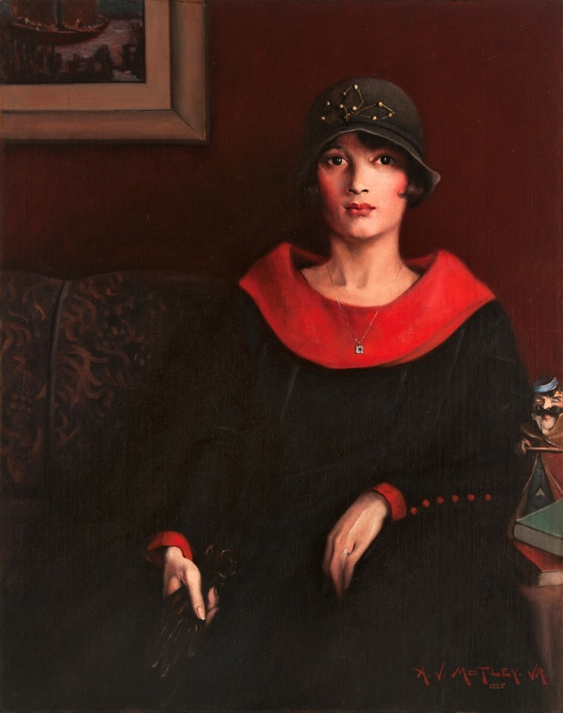 Archibald J. Motley Jr., The Octoroon Girl, 1925. Oil on canvas, 38 x 30.25 inches (96.5 x 76.8 cm). Courtesy of Michael Rosenfeld Gallery, LLC, New York, New York. © Valerie Gerrard Browne.