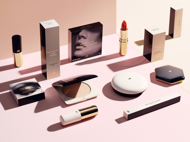 H&M Launches Beauty Collection this Fall (PRNewsFoto/H&M)