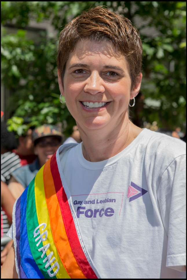 2014 Grand Marsha Rea Carey, Executive Director of the National Gay and Lesbian Task Force