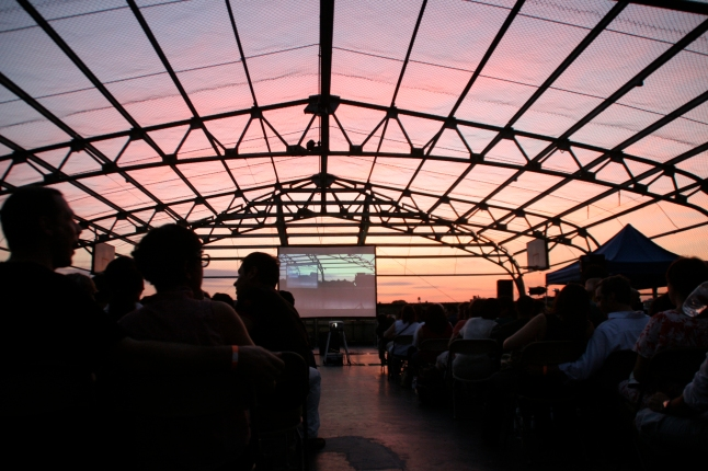 Rooftop Films Summer Series. Photo Credit: Dillon DeWaters