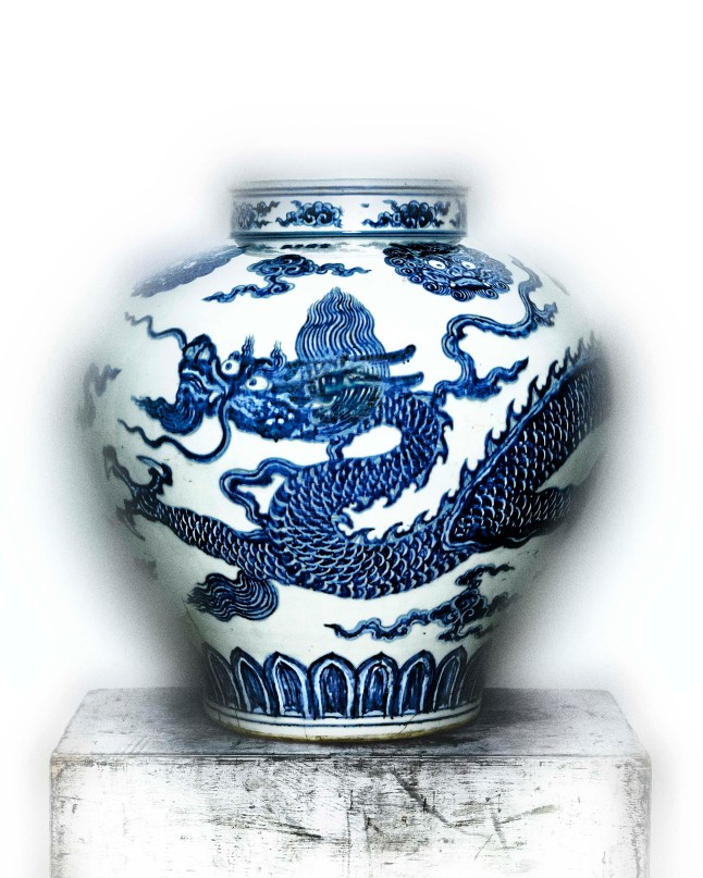 Jar with Dragon (Chinese), early 15th-century; The Metropolitan Museum of Art, Gift of Robert E. Tod, 1937 (37.191.1) Photo: Courtesy of The Metropolitan Museum of Art, Photography © Plato