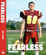 Tanner on the cover of FEARLESS: Portraits of LGBT Student Athletes, a photography book and personal memoir by American artist Jeff Sheng. (Photo Credit: Jeff Sheng/www.jeffsheng.com)
