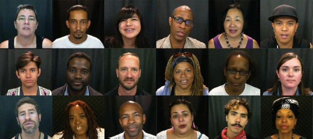 The HIV Story Project developed the concept in 2010 by creating an interactive Generations HIV Video Storytelling Booth at Under One Roof in San Francisco to record video testimonials about people's experiences with HIV/AIDS. (PRNewsFoto/The HIV Story Project)