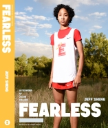 Mason on the cover of FEARLESS: Portraits of LGBT Student Athletes, a photography book and personal memoir by American artist Jeff Sheng. (Photo Credit: Jeff Sheng/www.jeffsheng.com)