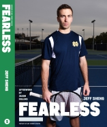 Matt on the cover of FEARLESS: Portraits of LGBT Student Athletes, a photography book and personal memoir by American artist Jeff Sheng. (Photo Credit: Jeff Sheng/www.jeffsheng.com)
