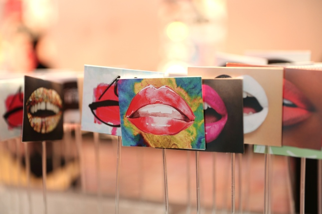 A general view during the presentation of 'Art of the Lip' by MAC Cosmetics at Haus der Kunst on June 24, 2015 in Munich, Germany.  (Photo by Gisela Schober/Getty Images)
