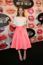 Alicia von Rittberg during the presentation of 'Art of the Lip' by MAC Cosmetics at Haus der Kunst on June 24, 2015 in Munich, Germany.  (Photo by Gisela Schober/Getty Images)