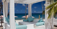 Beach Cabana at The BodyHoliday Resort Spa in St. Lucia. (Photo courtesy of The BodyHoliday)