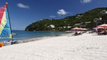 the Cariblue Beach at The BodyHoliday Resort Spa in St. Lucia. (Photo courtesy of The BodyHoliday)