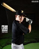 Chandler, Baseball, Walla Walla Community College, 2014. Photo courtesy Jeff Sheng, Fearless Project