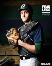 Matt, Baseball, Drew University, 2014. Photo courtesy Jeff Sheng, Fearless Project