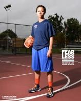 Miah, Basketball, Fairleigh Dickinson University, 2014. Photo courtesy Jeff Sheng, Fearless Project