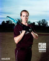 Rose, Softball, Swarthmore College, 2013. Photo courtesy Jeff Sheng, Fearless Project