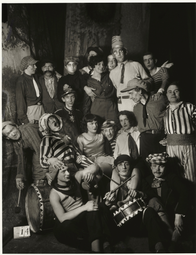 August Sander, German, 1876–1964 Artists' Carnival in Cologne, 1931 from People of the 20th Century: Festivities The Museum of Modern Art, New York Acquired through the generosity of the Sander family