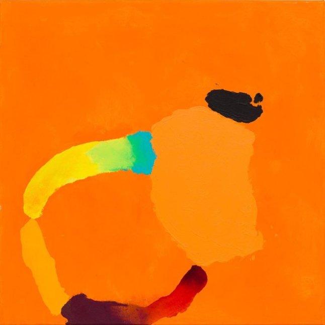 TREVOR BELL, Jolly one, 2012, Acrylic on canvas, 36 x 36 in