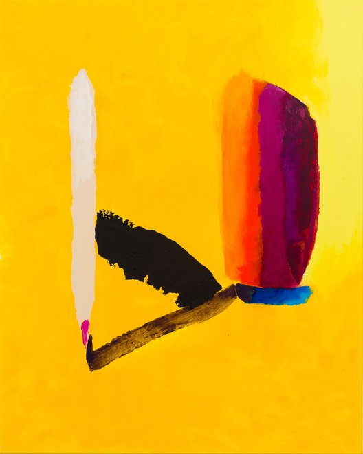 TREVOR BELL, Madison spring, 2014, Acrylic on canvas, 60 x 48 in