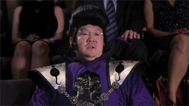 Aaron (Aaron Takahashi) tries to take over the world in a scene from the feature film National Film Society presents AWESOME ASIAN BAD GUYS releasing June 23, 2015
