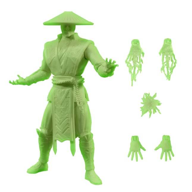 Mortal Kombat X Glow-in-the Dark Raiden from Mezco Toyz