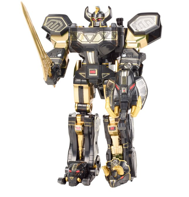 POWER RANGERS™ Limited Black Edition Legacy Megazord from Bandai™