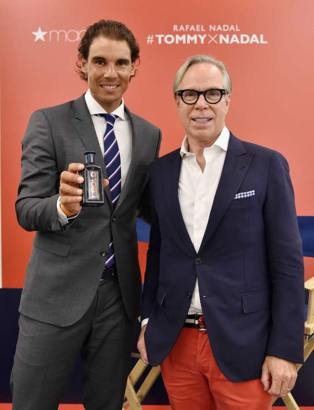 Rafael Nadal with Tommy Hilfiger at a Personal Appearance At Macy's Herald Square (Image provided by Tommy Hilfiger PR)