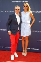 Tommy Hilfiger and Dee Hilfiger