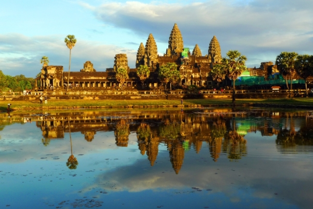 The Temples of Angkor Wat (PRNewsFoto/Crystal Cruises)