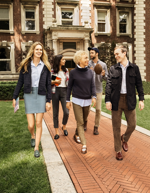 Cole Haan Pinch Campus - The New Class Campaign Image 1 (PRNewsFoto/Cole Haan)