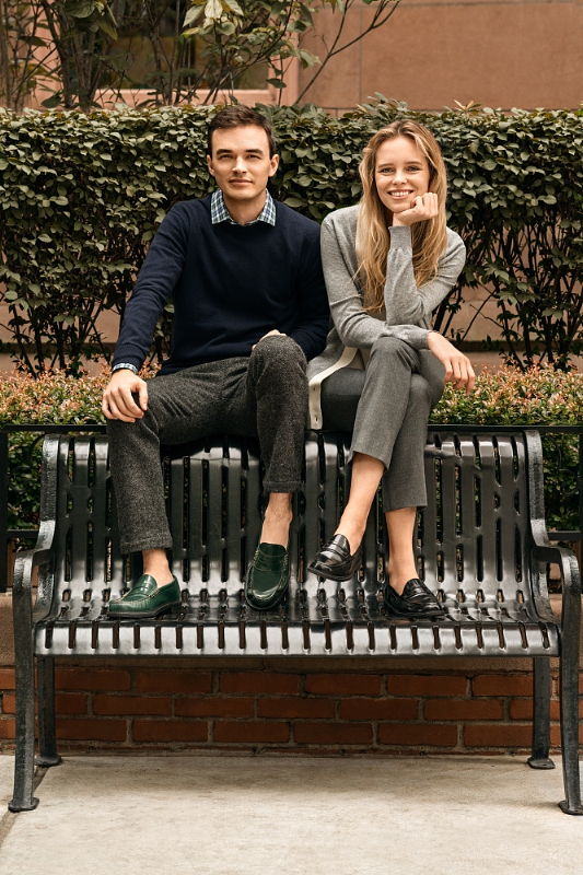 Cole Haan Pinch Campus - The New Class Campaign Image 2 (PRNewsFoto/Cole Haan)