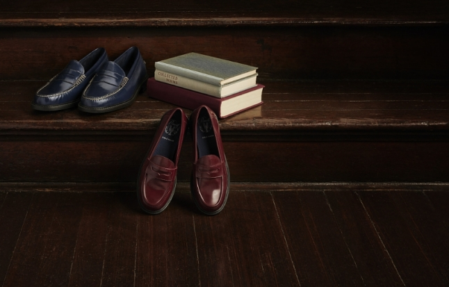 Cole Haan Pinch Campus - The New Class Campaign Image 3 (PRNewsFoto/Cole Haan)