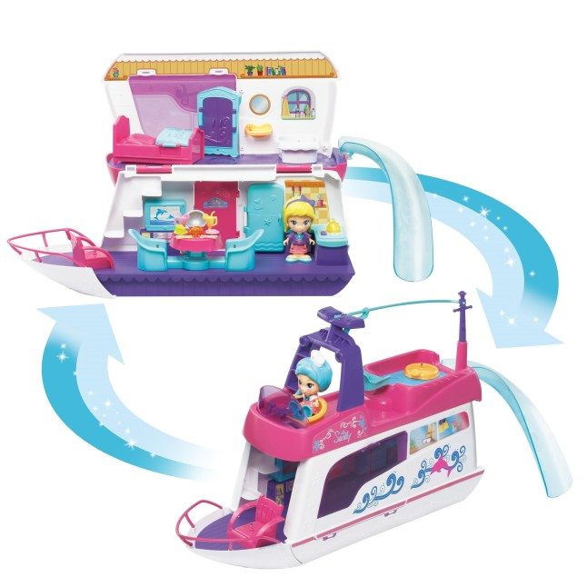 VTech(R)'s award-winning Flipsies(TM) Sandy's House & Ocean Cruiser is available now. (PRNewsFoto/VTech)