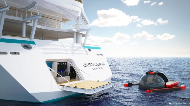Crystal Esprit Marina (PRNewsFoto/Crystal Cruises)