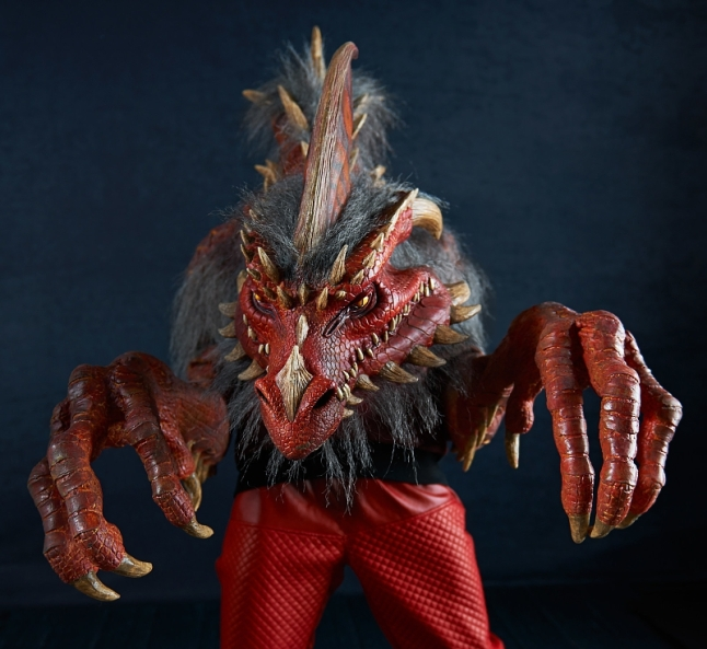 The Nightmare Collection, available on BuyCostumes.com, features 14 monstrous masks and costumes, including Ember, the Red Dragon. (PRNewsFoto/BuySeasons, Inc.)