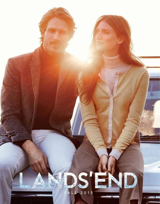 "The cover of the ""A Closer Look at the Land"" Land's End  Catalog"