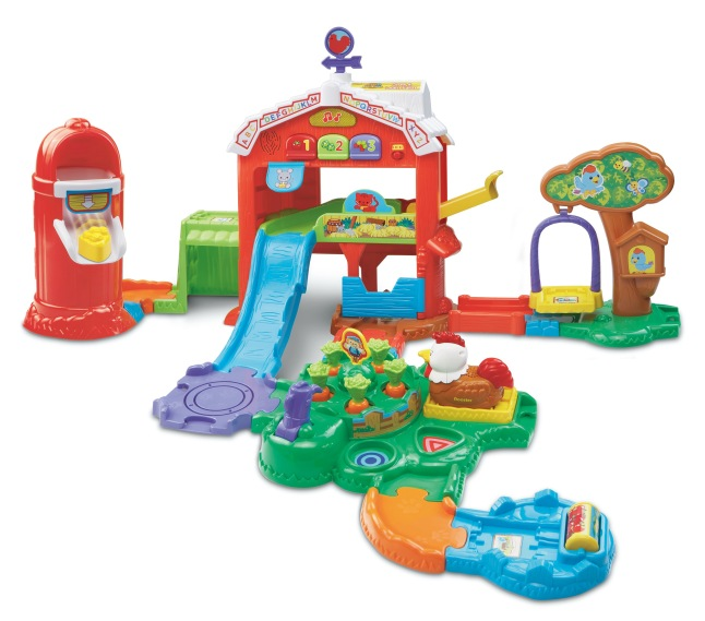 New Go! Go! Smart Animals® Grow & Learn Farm™ from VTech®.