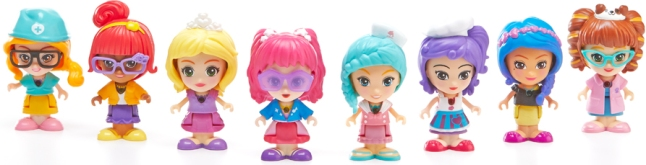 Build Your Own Flipsie World with the Flipsie Girls