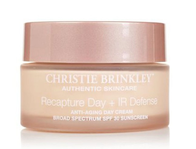 Christie Brinkley Authentic Skincare Recapture Day + IR Defense Anti-Aging Day Cream SPF 30