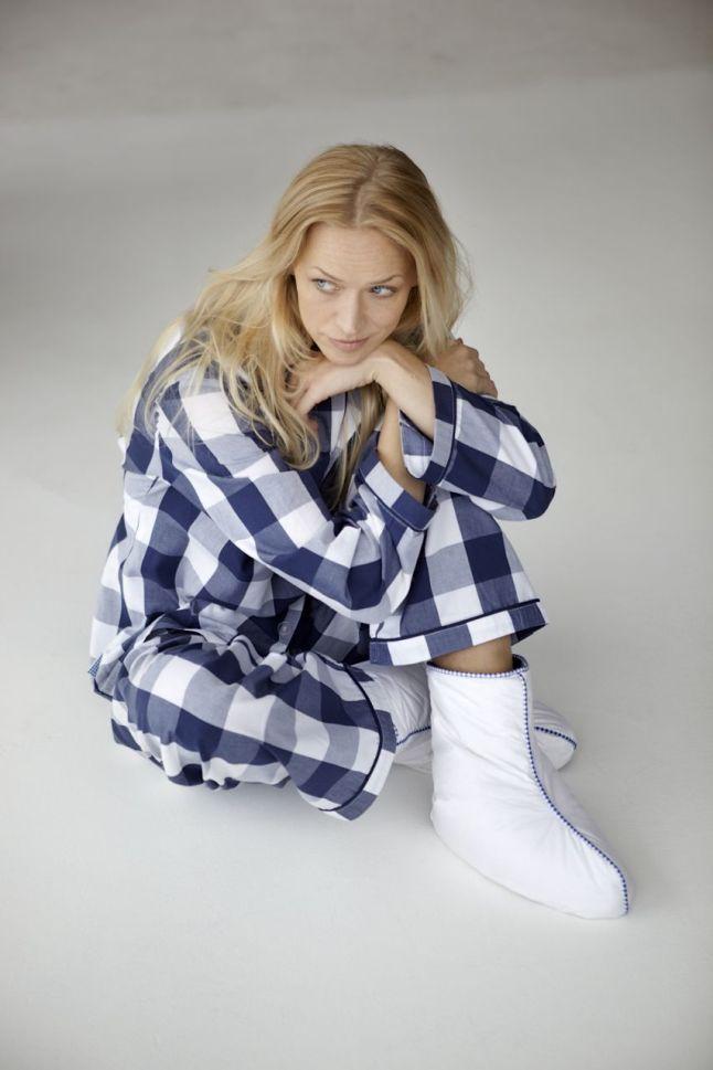Hästens Blue Check Pajamas