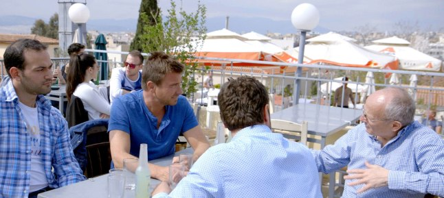 Booze Traveler, Season Two, Episode One: Host Jack Maxwell sits down with the creators of Yamas, a flavored wine spritzer, to learn how they innovated Greece's three most popular spirits.