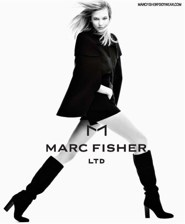 MARC FISHER LTD's FW15 #MAKEYOURMARC Campaign Featuring Karlie Kloss (wearing the Nettie Boot) in support of the Kode With Karlie Scholarship Fund.
