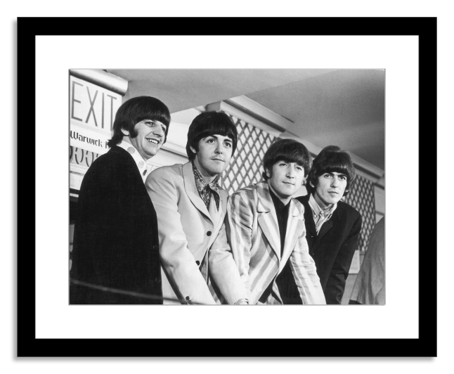 The Beatles in New York City by Fred W. McDarrah (Image courtesy of Photo.com by Getty Images)