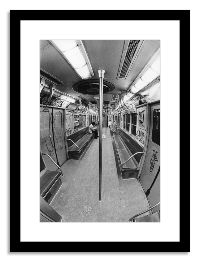 Subway Car, 1977: Interior view of a graffiti-covered subway car, New York, New York, February 25, 1977. (Photo by Fred W. McDarrah/Getty Images)