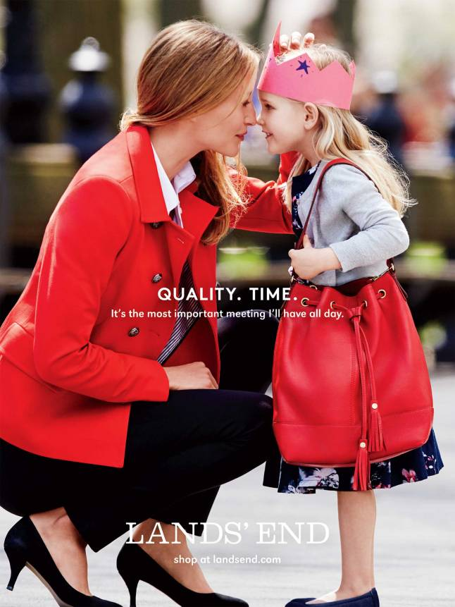 Land's End (new) Quality. Time Campaign