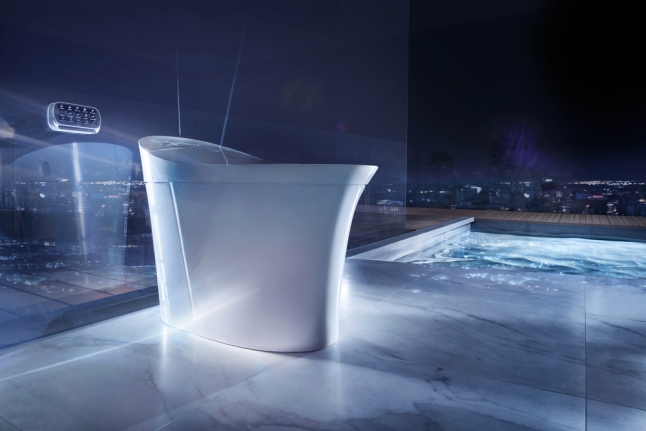 The Veil Intelligent Toilet from Kohler